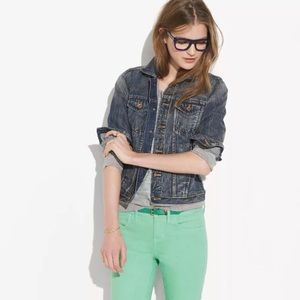 Madewell Jean Jacket in Storm Cloud Wash